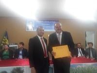 Câmara entregou título de cidadania a Inácio Carvalho