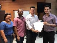 Rufino assina convenio com o INTERLEGIS
